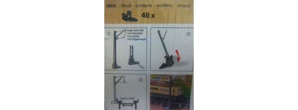Z-Halterungen für Oberleitungsmasten