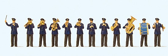 Musikkapelle DB. 12 Miniaturfiguren