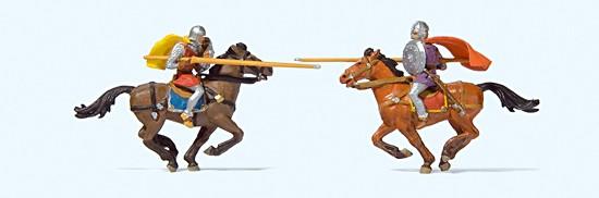 Ritterturnier zu Pferd