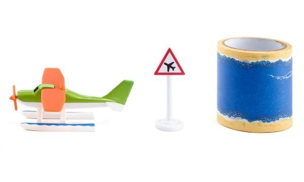 Wasserflugzeug mit Tape