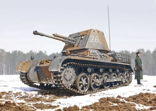 1:35 German Panzerjäger I