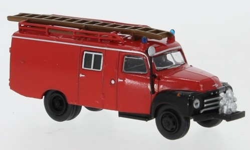Opel Blitz LF 8, rot/schwarz, 1952