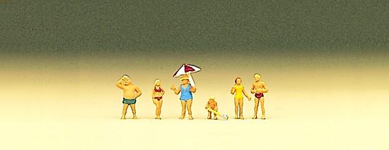 Z-Familie Krause am Strand