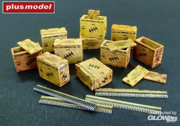 1:48-US ammunition boxes with belts