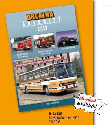 Brekina 12212-Brekina-autoheft 2012//2013