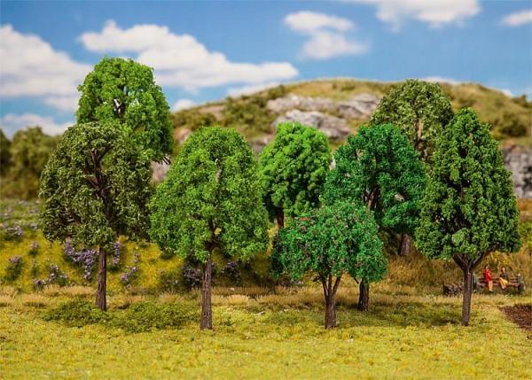 H0/TT/N-20 Mischwaldbäume, sortiert