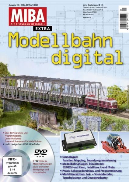 MIBA-Modellbahn digital - Heft 20 m. DVD