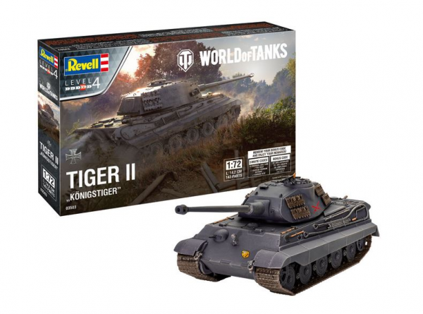 1:72-Tiger II Ausf. B, Königstiger