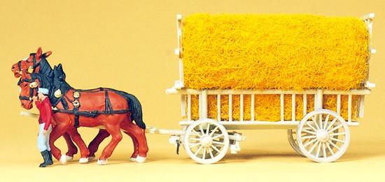 Getreidewagen. Fertigmode