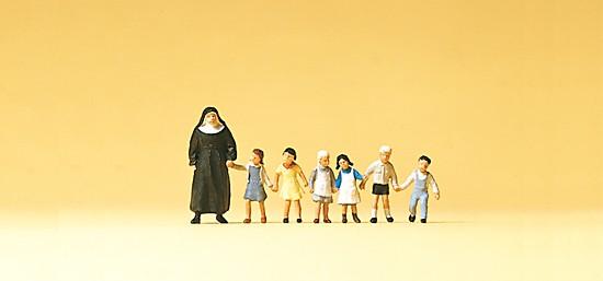 TT-Nonne. Kinder