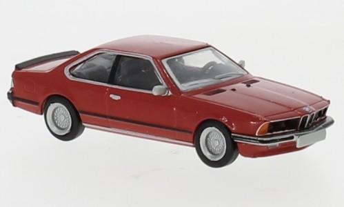 BMW 635i, rot, 1977