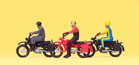 Motorradfahrer auf HERCULES