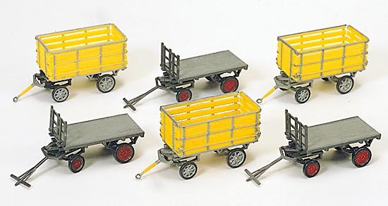 Postwagen. Bausatz