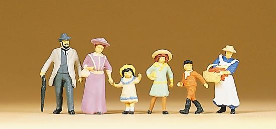Familie. Um 1900