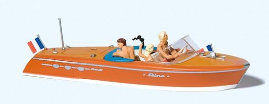 Motorboot Riva Ariston mit Besatzung
