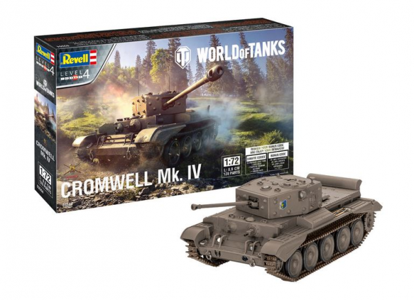 1:72-Cromwell Mk. IV, World of Tanks