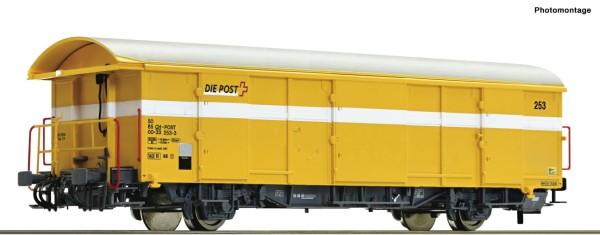 Postgüterwagen, SBB, gelb
