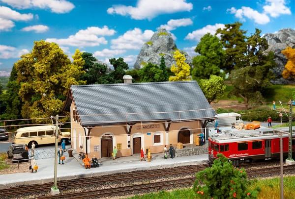 H0-Bahnhof Ardez