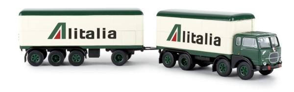 Fiat 690 Millepiedi Kofferzug, Alitalia