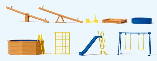 Spielgeräte für Spielplatz und Garten