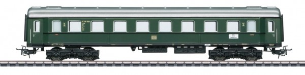 Schnellzugwagen, 2. Klasse, Tin Plate