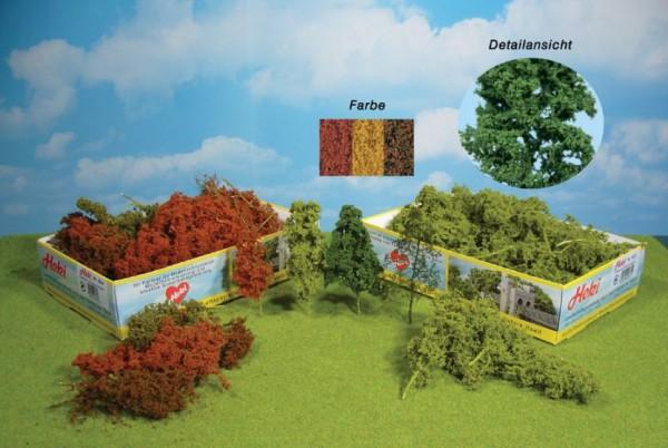 Laubbäume u. Büsche, 15 Stück herbstlich