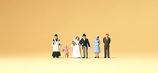Brautpaar, katholischer Geitlicher