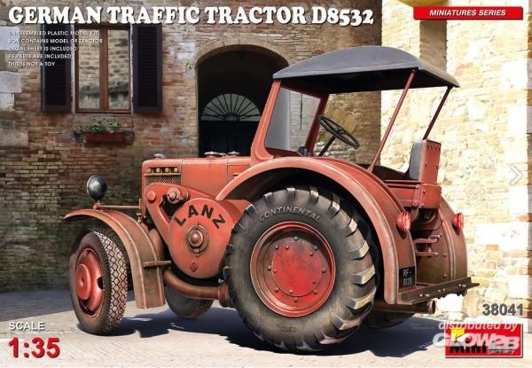 1:35-German Traffic Tractor D8532