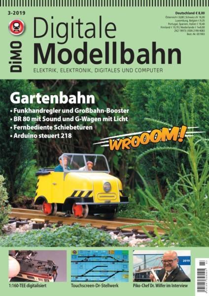Digitale Modellbahn: Gartenbahn
