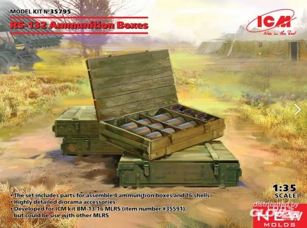 1:35-RS-132 Ammunition Boxes