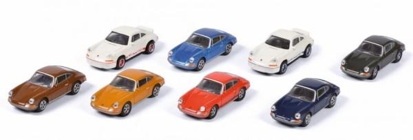 1:87-Porsche 911, 8-er Set