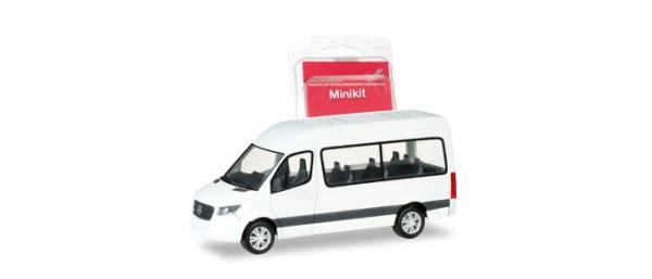 miki mb sprinter`18 bus hd,weiß | autos | 1:87 | maßstab | herpa