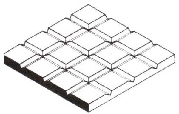 Gehwegplatten, 1x150x300 mm, 1 Stück