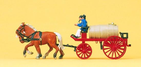 Wasserwagen. Um 1900. Fertigmodell