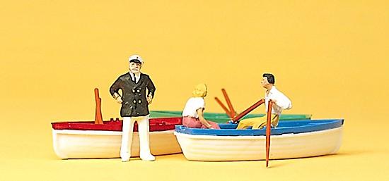 Bootsverleih mit 3 Booten