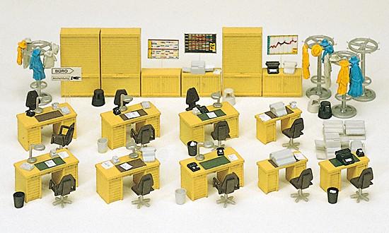 Büroeinrichtung. Bausatz