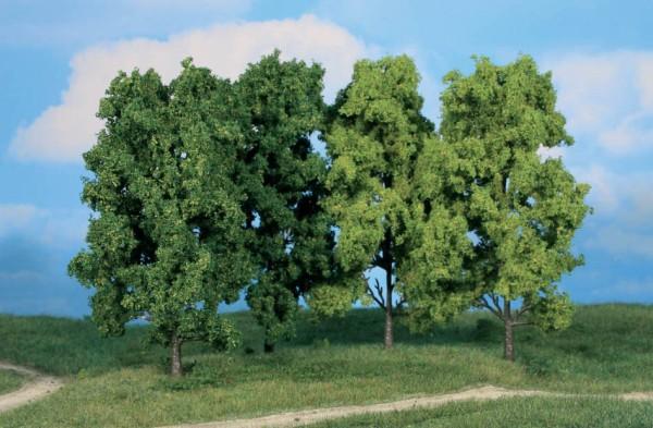 4 Laubbäume, 18 cm hoch