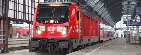 H0-E-Lok BR 147, DB AG, Ep.VI, DC-Sound