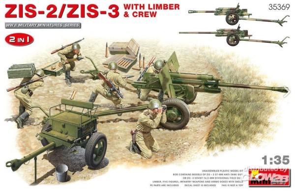 1:35-ZIS-2/ZIS-3 With LIMBER & CREW