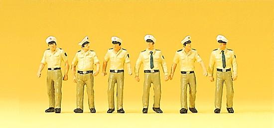 Polizisten in Sommeruniform