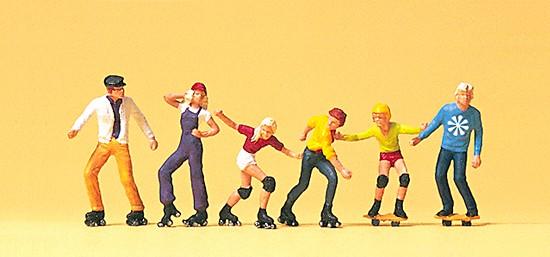 Rollerskate und Skateboard