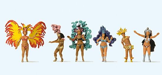 H0-Samba-Tanzgruppe