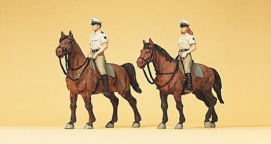 Berittene Polizei. Sommeruniform