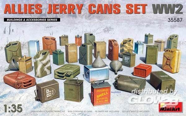 1:35-Allies Jerry Cans Set WW2