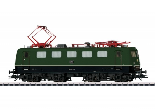Elektrolokomotive Baureihe 141, grün, DB