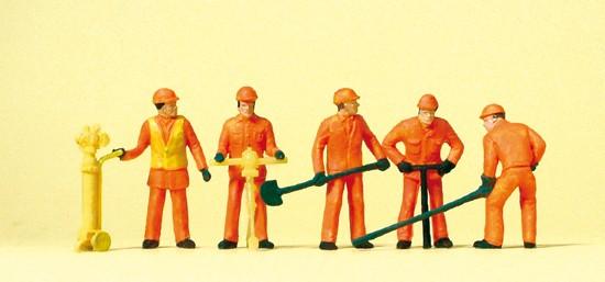 HO Gleisbauarbeiter