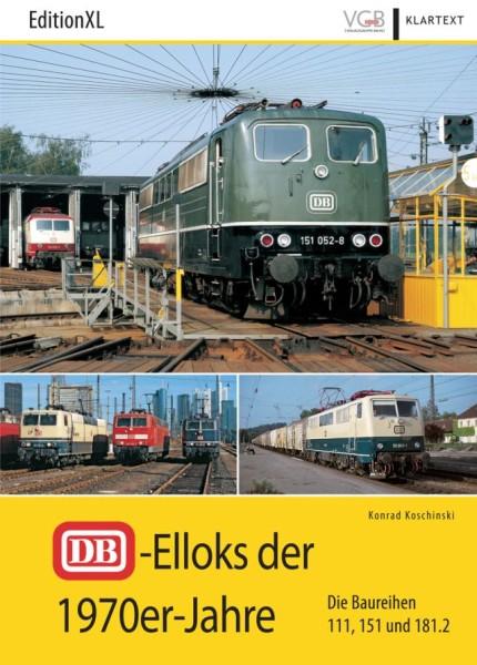 VGB Klartext: DB-E´Loks der 1970er-Jahre