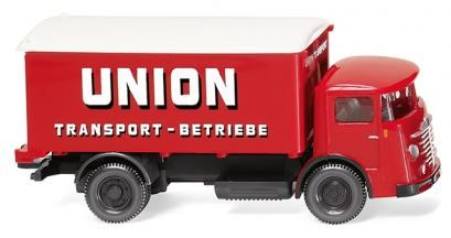 Koffer-Lkw, Büssing 4500 Union Transport
