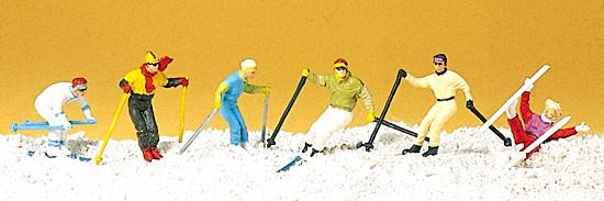 Abfahrtsläufer - Skifahrer