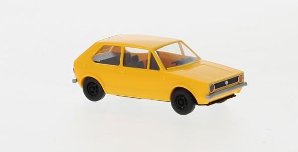 VW Golf I, dunkelgelb, 1974